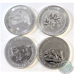 2013-2016 Canada $8 1.5oz Fine Silver Coins (TAX Exempt). You will receive the 2013 Polar Bear, 2014