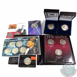 John F. Kennedy USA Half Dollar Collection. You will receive a total of 15 Coins in the following se