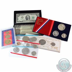 1976 United States Bicentennial Group Lot. You will receive the following: 1976 USA Uncirculated Min