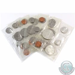 Group Lot 1963-2010 Canada Uncirculated coin Sets. You will receive the following years: 1963, 2x 19