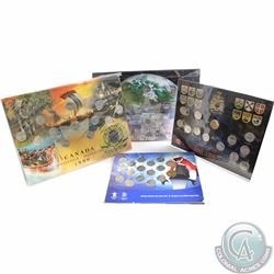 1992-2010 Canada Commemorative Circulation Boards with Coins. You will receive the 1992 25-cent 13-c