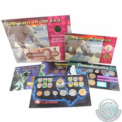 Group Lot 1994-1996 Canada Commemorative Coin Sets. You will receive 2x 1994 Year Sets with Memorial