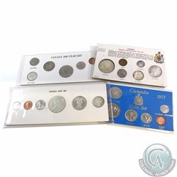 1964-1977 Canada Circulation Year Sets. You will receive the 1964 6-coin Set, 1967 6-coin Set, 1968