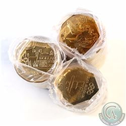 Lot of 3x Canada Commemorative $1 Original Rolls of 25pcs. You will receive 2008 Lucky Loon, 2010 In