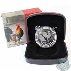 2017 Australia $1 Lunar Year of the Rooster Silver Proof Coin (TAX Exempt)