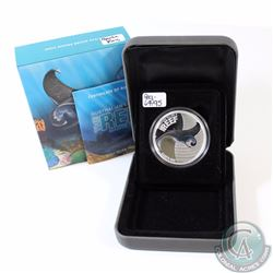 2012 Australia 50-cent Manta Ray 1/2oz Fine Silver Proof Coin (Capsule lightly scuffed on back). TAX