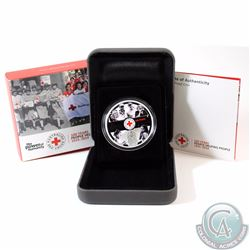 2014 Australia $1 100th Anniversary of Australian Red Cross 1oz Silver Proof Coin (TAX Exempt)