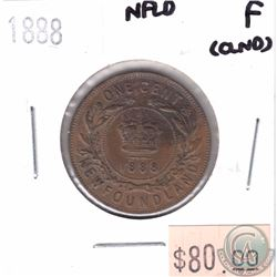 1888 Newfoundland 1-cent Fine (Cleaned)