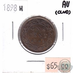 1898H Canada 1-cent AU (Cleaned)