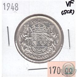 1948 Canada 50-cent VF (Scratched)