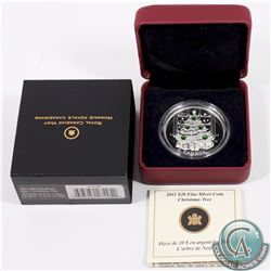 2011 Canada $20 Christmas Tree Fine Silver Coin (Outer sleeve lightly worn) (TAX Exempt) *Includes 2