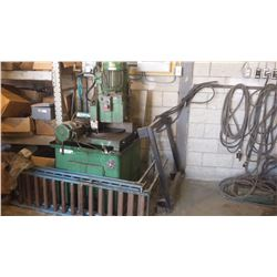 Eisele Cold-Saw type 15'' semi-automatic with pneumatic system for machine and Vise