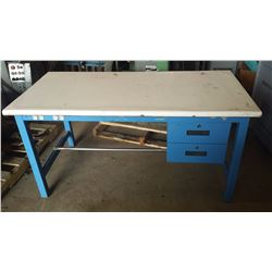Work Table with Drawers