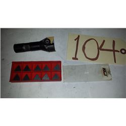 Fly Cutter 1''1/4 with inserts