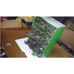 Plastic Frame Cabinet with Contains