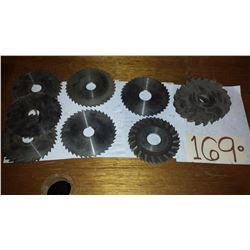 Lot of Assorted Milling Cutter