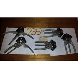 Lot of Strapping Vises