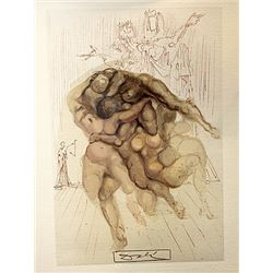 Dali - Hell Canto 8 - The Divine Comedy