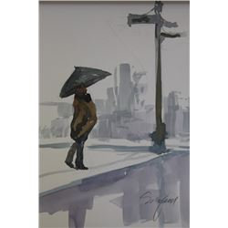 """WALKING IN THE RAIN"" BY MICHAEL SCHOFIELD"