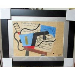 Juan Gris Collage on Paper
