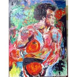 LeRoy Neiman Oil on Canvas