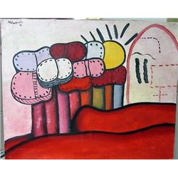 Oil on Canvas Philip Guston