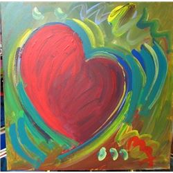 Oil on Canvas Peter Max