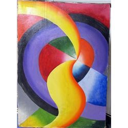 Oil on Canvas Robert Delaunay