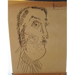 Pablo Picasso Pencil Drawing