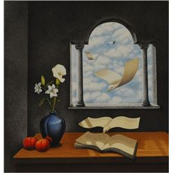 Rafal Olbinski - Still Life-Calendar of Yesterdays Wishes