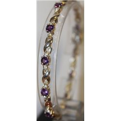 Beautiful Amethyst Bracelet