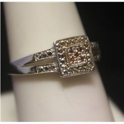 Gorgeous Diamonds Silver Ring