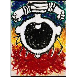 The Upside Down Scream by Tom Everhart