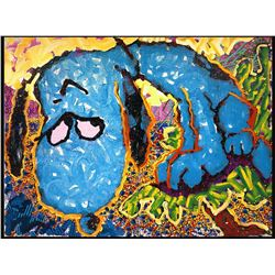 Hollywood Houng Dog 1999' by Tom Everhart