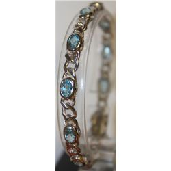 Lovely Blue Topaz Bracelet