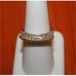 Rare Champagne Diamond Ring