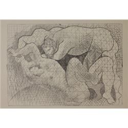 The Rape - 1931 Lithograph -  Picasso