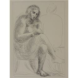 The Bath - Lithograph  -  Picasso