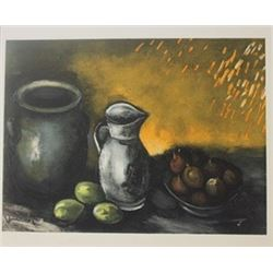 Still life with jugs - Lithographs -  Maurice de Vlaminck