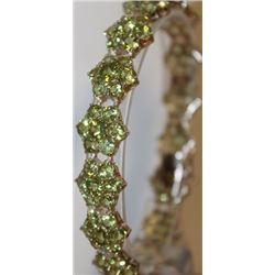 Stylish Peridot Bracelet