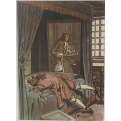 Passed out - Lithograph -  Cleland