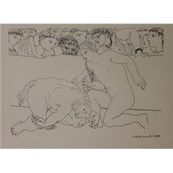 Minotaur Defeated 1933 Lithograph- picasso