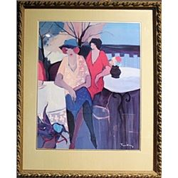 Garden Party - Lithograph - Itzchak Tarkay