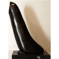 Bronze Sculpture With Marble Base - Constantin Brancusi