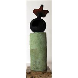 Limited Edition Patina Bronze Sculpture - Joan Miro