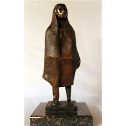 Bronze Sculpture - Marble Base - Gorman
