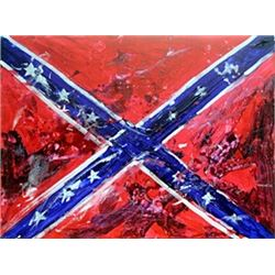 Confederate Flag - Original - Michael Schofield