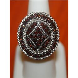 Antique Styled Cluster Ring