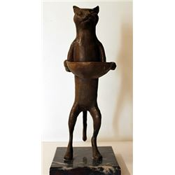 Cat - Bronze Sculpture - Diego