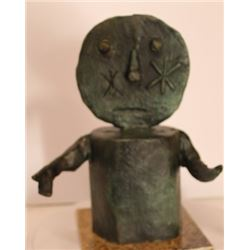 Patina Bronze Sculpture - Rufino Tamayo